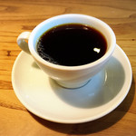 ハナノワcafe - 珈琲はホームコーヒーロースターさんの珈琲を使用。