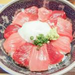 日本料理 銀座 大野 - 本マグロ花びらのよう