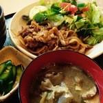 DINING Ben - 麦豚の生姜焼き定食
