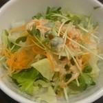 肉マル食堂 - セットサラダ