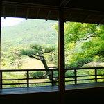 498297 - お茶室から見る景色