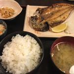49802331 - 焼魚定食(あじ開き) ¥800