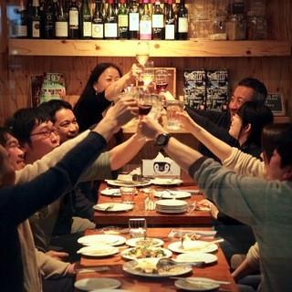 ◆パーティーにも◎◆貸切20名様〜OK!コースご予約大歓迎♪
