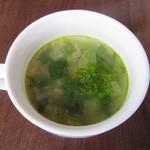 肉ビストロ SIXMARS - スープ