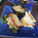 カフェ 亀ゴージュ - 亀ランチのサンドウィッチ