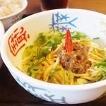 49808257 - '16.04日式・汁なし担々麺ハーフ