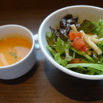 49809223 - スープ&サラダ