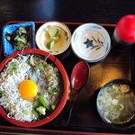 相模亭 - 料理写真:しらす二色丼