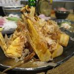はなれ びんび家 - 焼き筍 (2016/03)