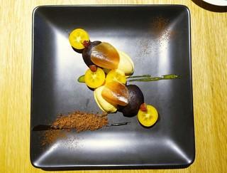 かしや - 金柑、チョコレート