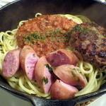 シロクマ食堂 - 鉄鍋パスタ