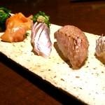 寿司 はせ川 - 鮨七貫