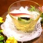 寿司 はせ川 - のれそれすだち酢