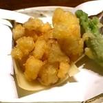 寿司 はせ川 - かき揚げ