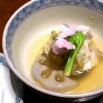 寿司 はせ川 - 金目鯛春香蒸し