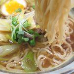 麺や 琥張玖 KOHAKU - 鴨らーめんの麺