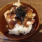 芭蕉庵 - ミニ天丼