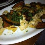THUle - 南瓜と地鶏のにんにく炒め