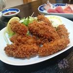 お食事処水仙 - 「カキフライ」  750円