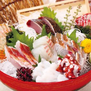 地元岡山の漁港から直送!旬の地魚を召し上がれ♪