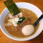 49832831 - 丸鶏ラーメン(ハーフ味)¥780