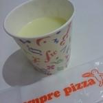 センプレ ピッツァ - □ポテトスープ 150円(外税)□ なんか安っぽい…。