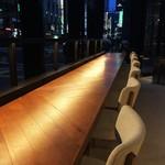 METoA Cafe & Kitchen - カウンター席~ ここ好き♡