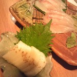 49834678 - 長いもわさび漬けと銀鱈の刺身