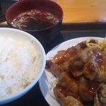 マルナカ - 生姜焼き定食 780円
