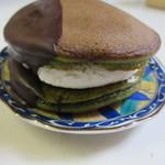 キチココ - 抹茶とチョコレート240円。