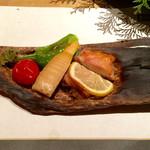 Ennagoya - 鶏と筍の蕗味噌焼き