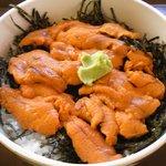 渚 - ウニ丼