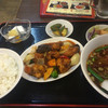 龍楽園 - 料理写真:酢豚セット。