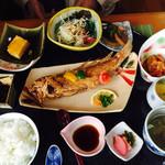 豚八 - ランチ 魚 (甘鯛の唐揚げ) 1080円