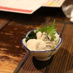 いの一番 - 牡蛎の酢の物
