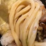 金沢製麺処 - 麺アップ