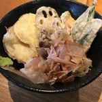 金沢製麺処 - 加賀野菜天のぶっかけ