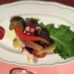 ピッツェリア・サバティーニ - 真蛸と旬野菜のマリネ