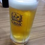よってけ まるとみ - ビール