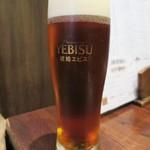 49846940 - 生ビールは琥珀エビス