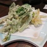 49846958 - 山菜の天ぷら