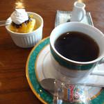 幡ヶ谷CAFE - セットの幡ヶ谷コーヒーです