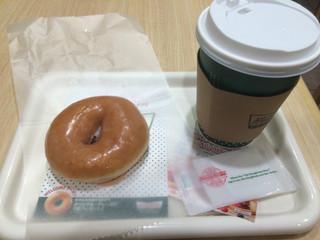 クリスピー・クリーム・ドーナツ アトレ川崎店 - コーヒーとオリジナルグレーズド