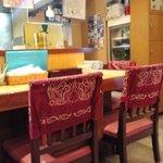 欣葉台湾料理 - カウンター席
