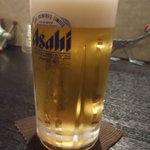 ひで屋 - 生ビール