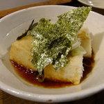 ばいかも - 揚だし豆腐:530円