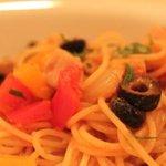 4985751 - 夏野菜とかじきのパスタ