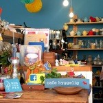 カフェ ヒュッグリー - カラフルな雑貨がいっぱいの店内です(2016.4.16)