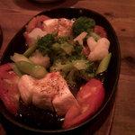 4986679 - 温野菜のカマンベールチーズ焼