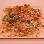 エイチツー クッキング - 「タコのカルパッチョサラダ」です。